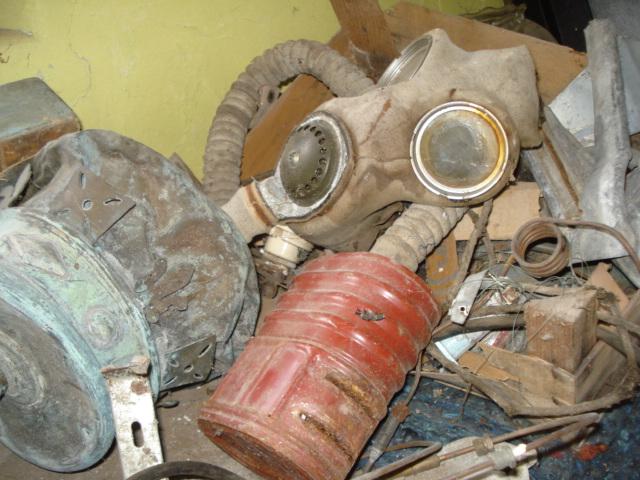 2nd World War Gas Mask Filter