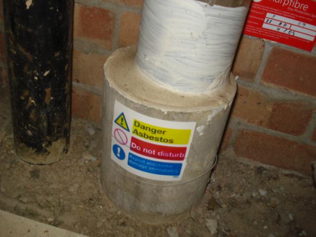ENV - Asbestos cement penetration collar
