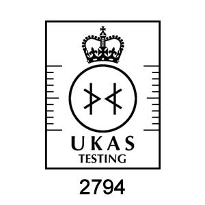UKAS Testing Accreditation - ENV Surveys